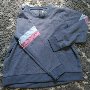 Nwot xersion 2xl grey athletic sweater